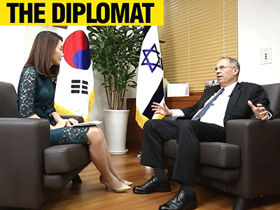 Ep.08 Israel Ambassador to Korea, Chaim Choshen
