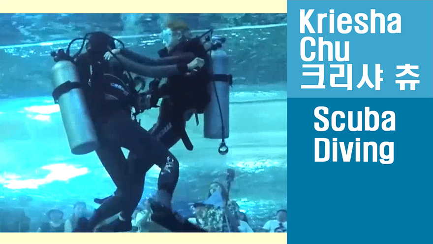 [Travel Agency] Diving into the big tank with a splash! Scuba diving in Aqua ...