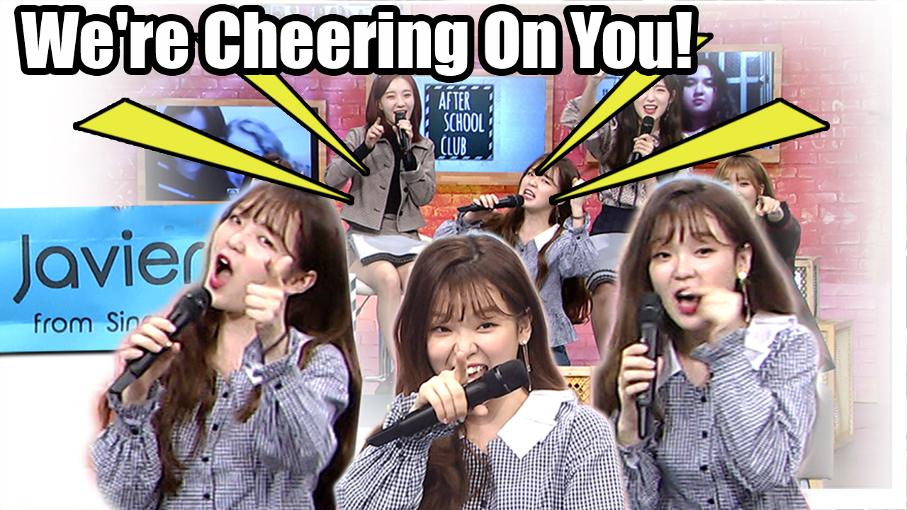 [After School Club] LOH MY GIRL(오마이걸) - Call Me Maybe