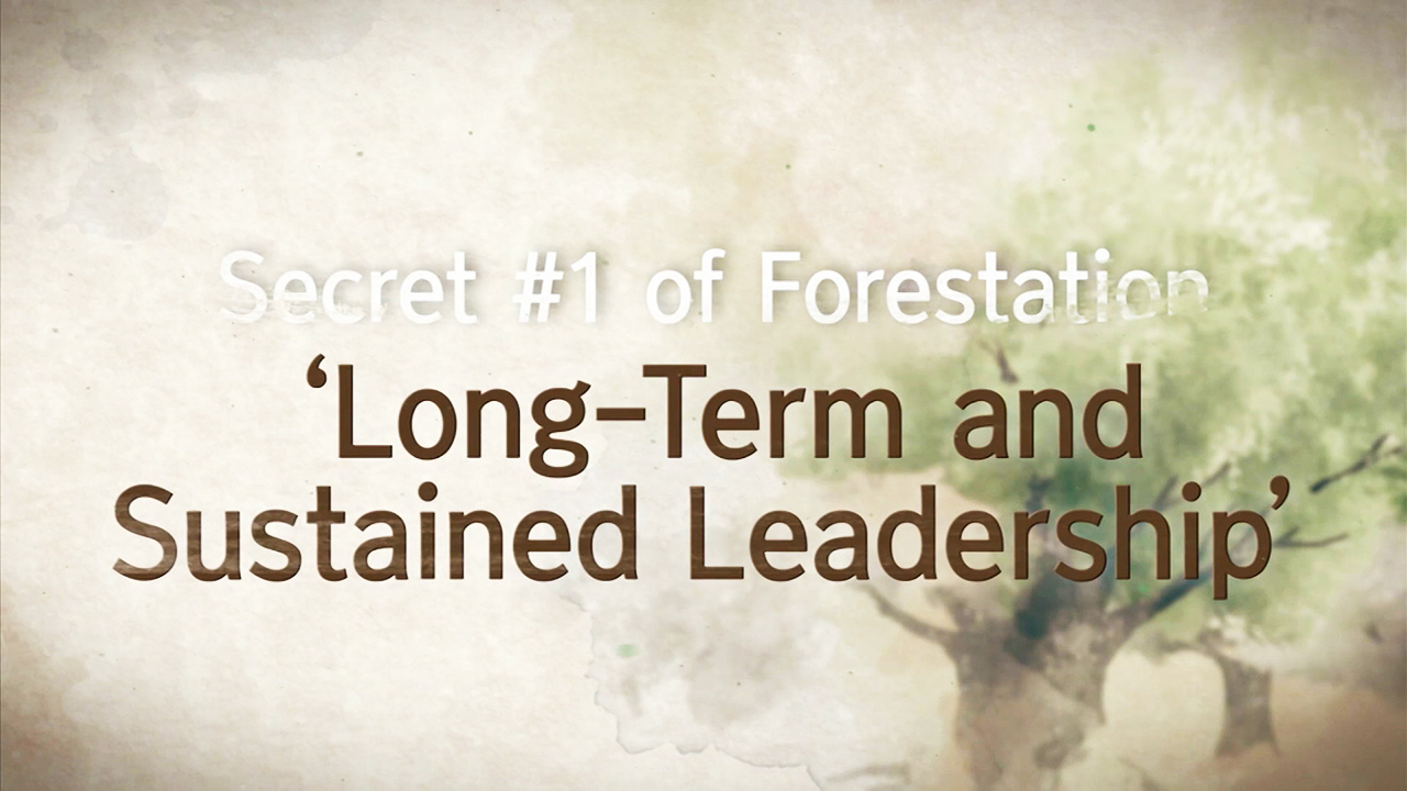 [Arirang Special] SECRET #1 of KOREAN FORESTATION 'Long-Term and Sustained Leadership'