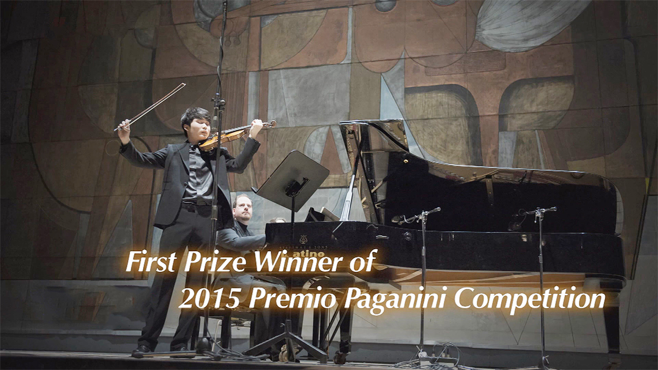 [The INNERview] First Prize Winner of 2015 Premio Paganini Competition [Violi...