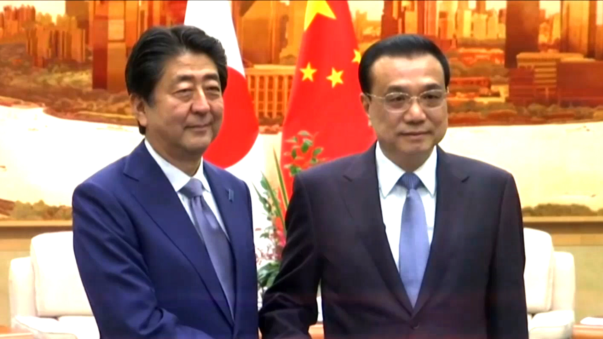 [The Point : World Affairs] 22-1 Japanese PM Abe visited China for the first ...