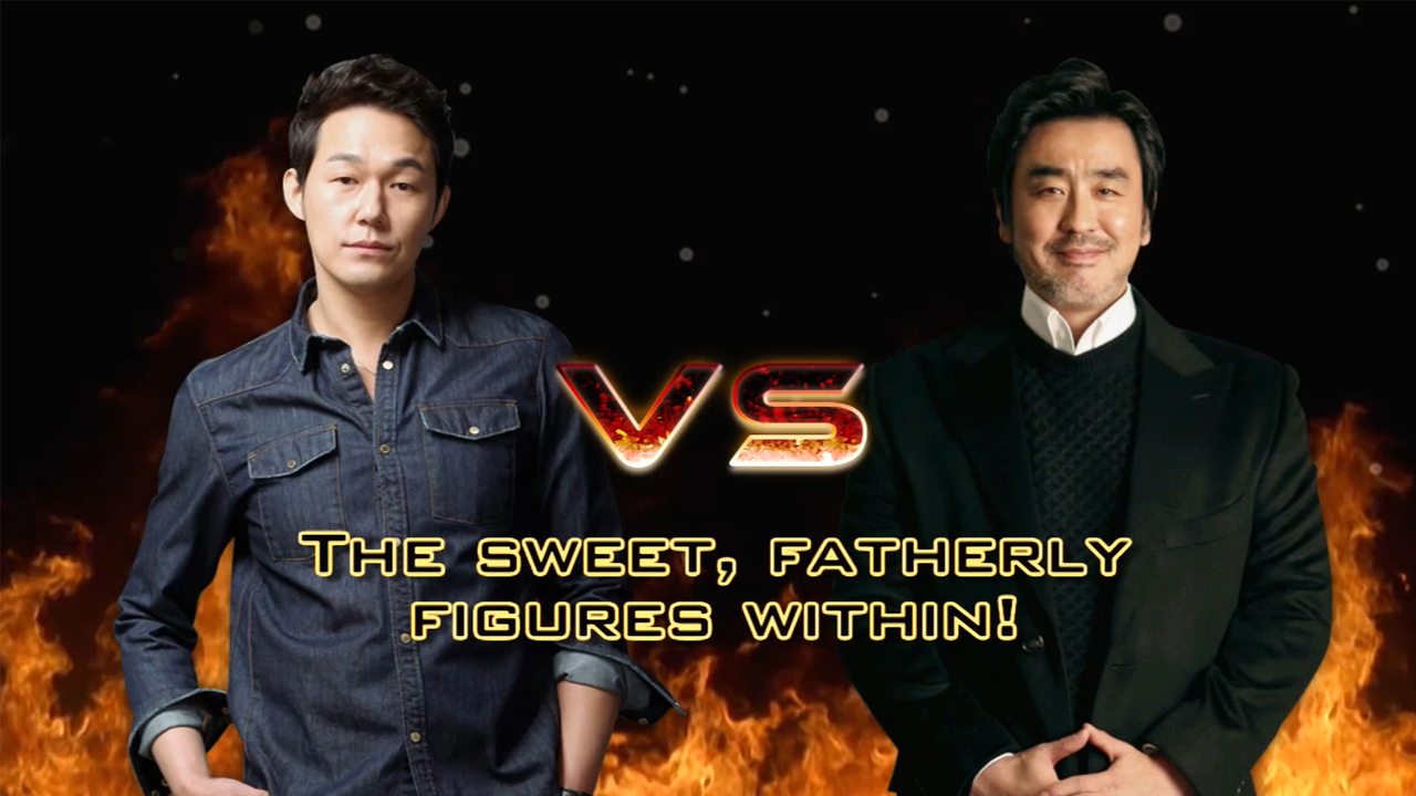 [Showbiz Korea] ★ STAR VS STAR ★ Park Sung-woong (박성웅) VS Ryu Seung-ryong (류승룡)