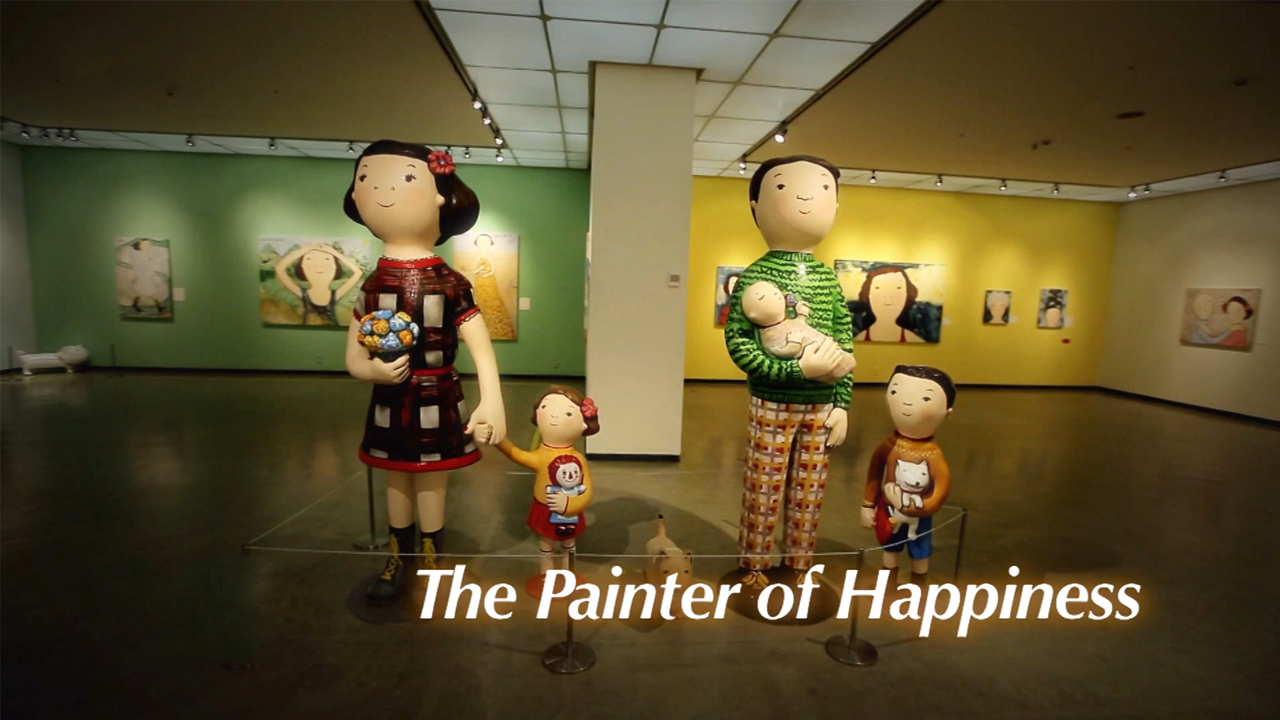 [The INNERview] The Painter of Happiness [Spanish painter, Eva Armisén]