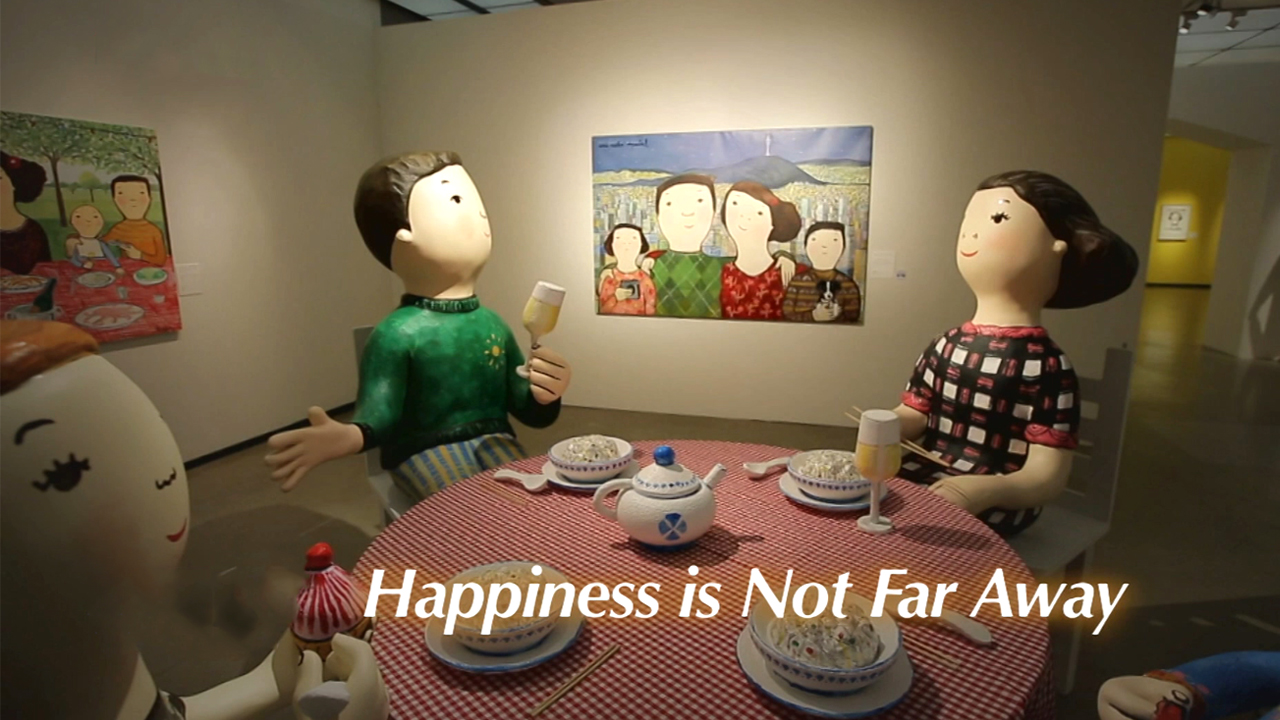 [The INNERview] Happiness is Not Far Away [Spanish painter, Eva Armisén]