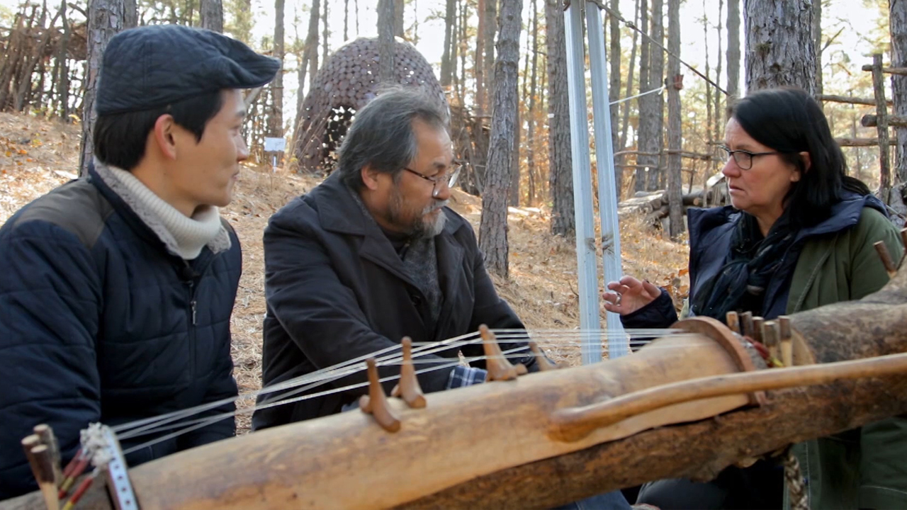 [ArTravel 2] Improvised collaboration at the Geumgang Nature Art Biennale, Gongju