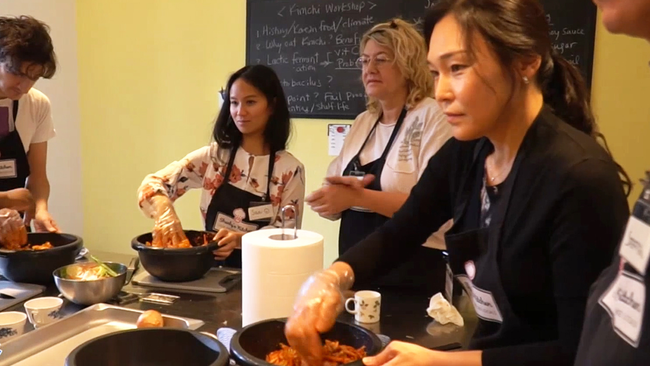 [Globetrotters] Promoting Korea with Cooking Class in Switzerland