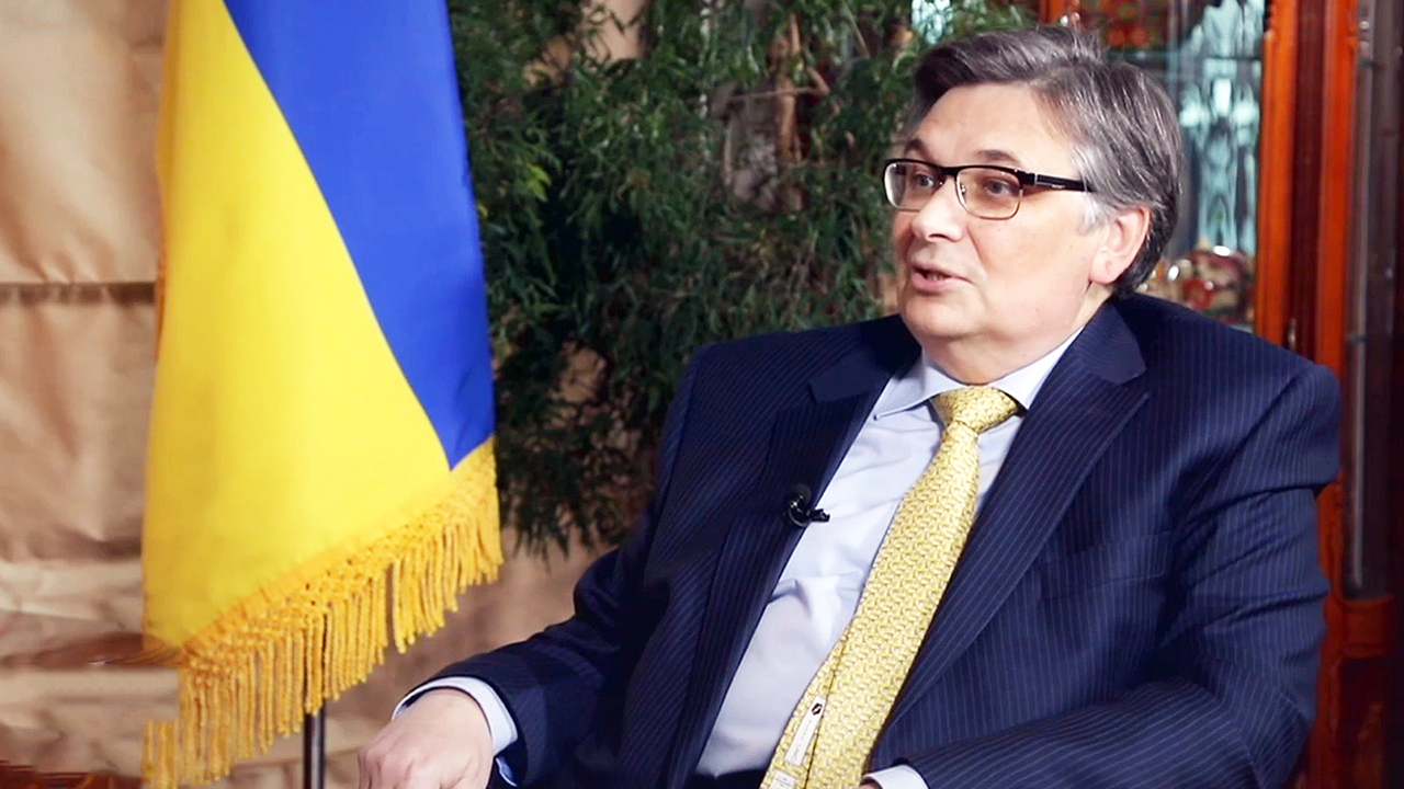 [The Diplomat] Economic & Investment Potential of Ukraine / Ukrainian Ambassador Olexander Horin