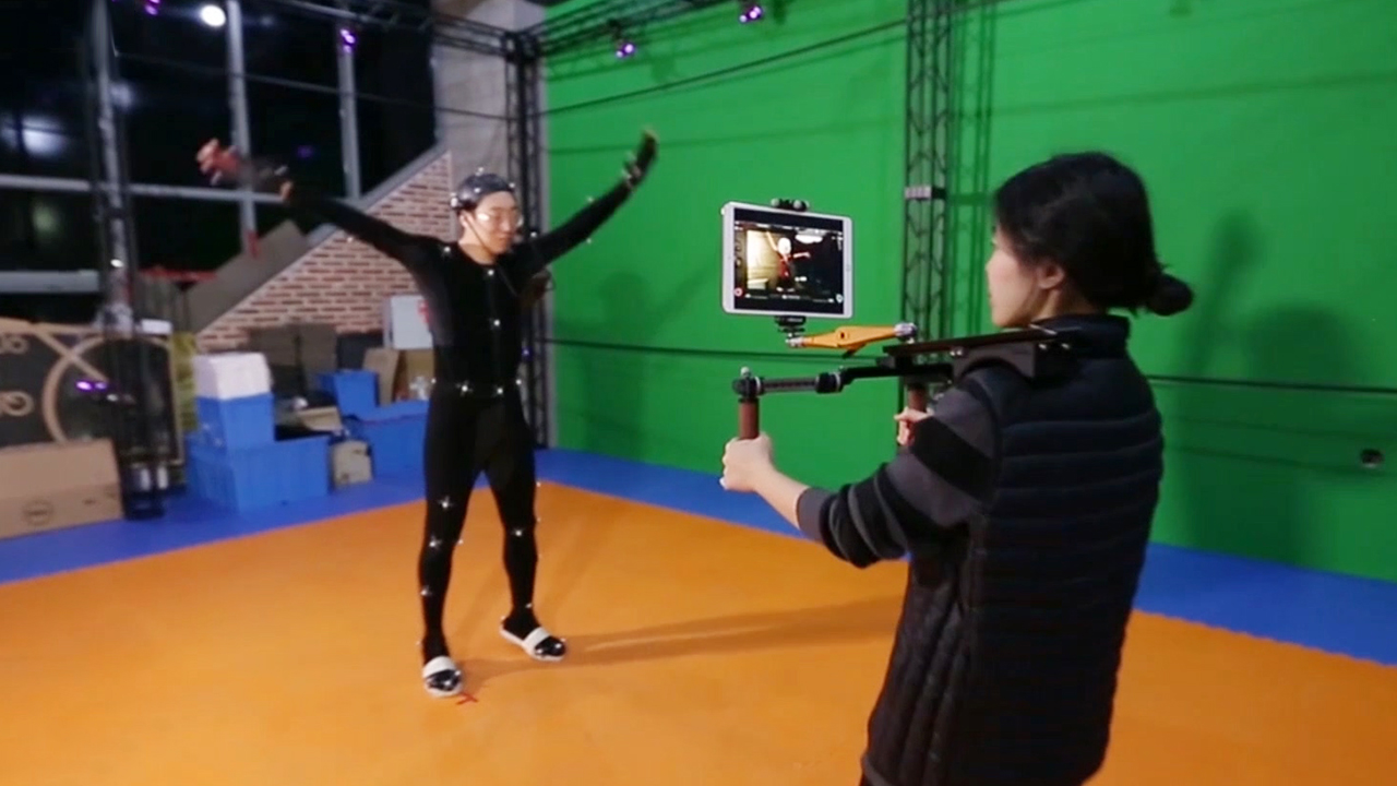 Motion capture, creation of realistic movements