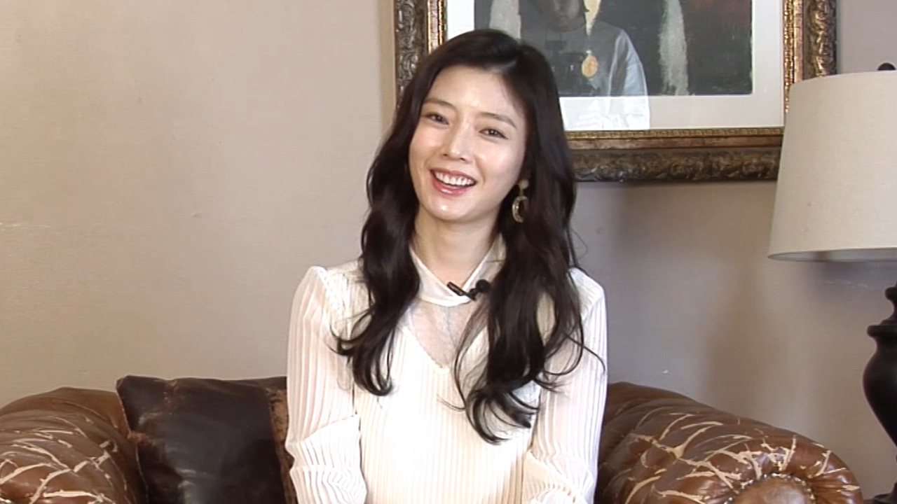 Actress Han Eun-sun (한은선) Interview