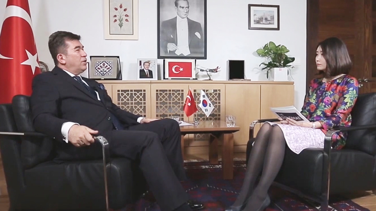 Korea-Turkey Cooperation and Accomplishments | Turkey Ambassador to Korea, Ersin Ercin