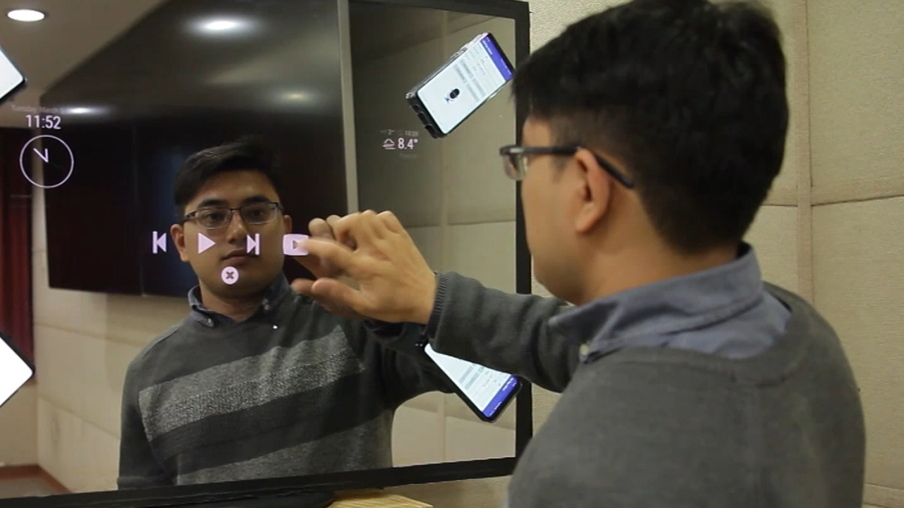 Smart mirror, evolution of display