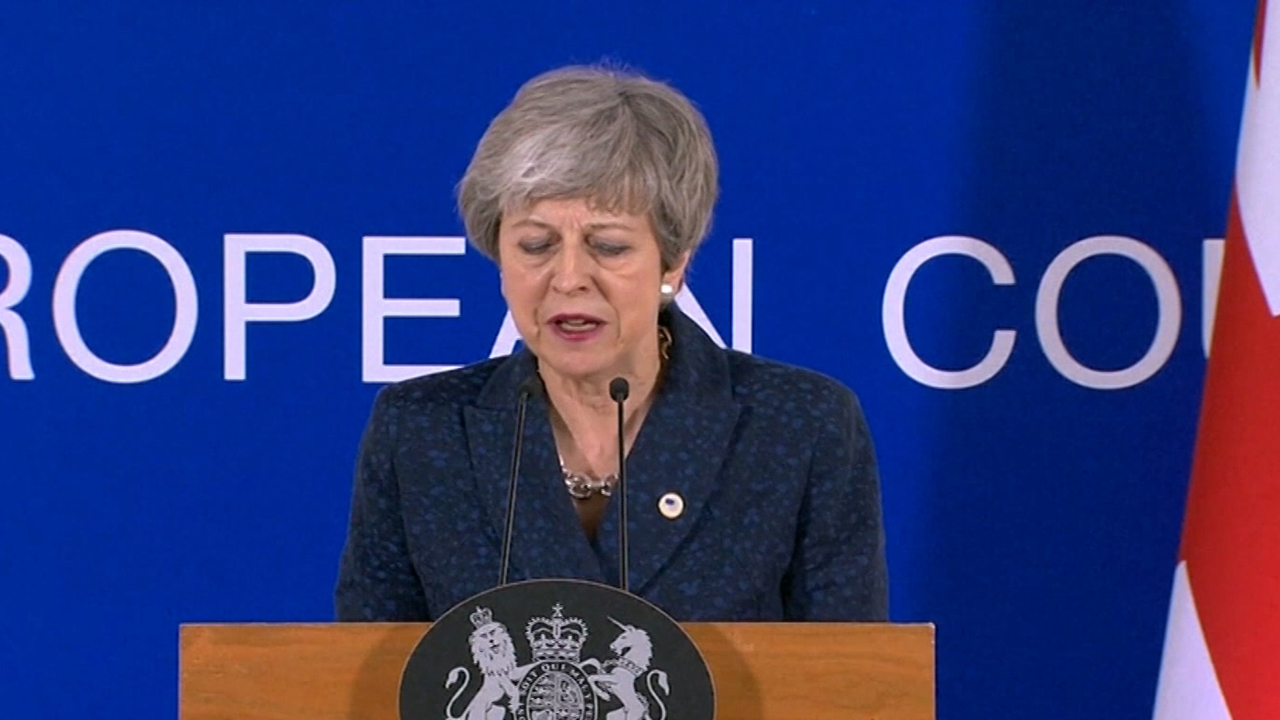 British Parliament postpones Brexit