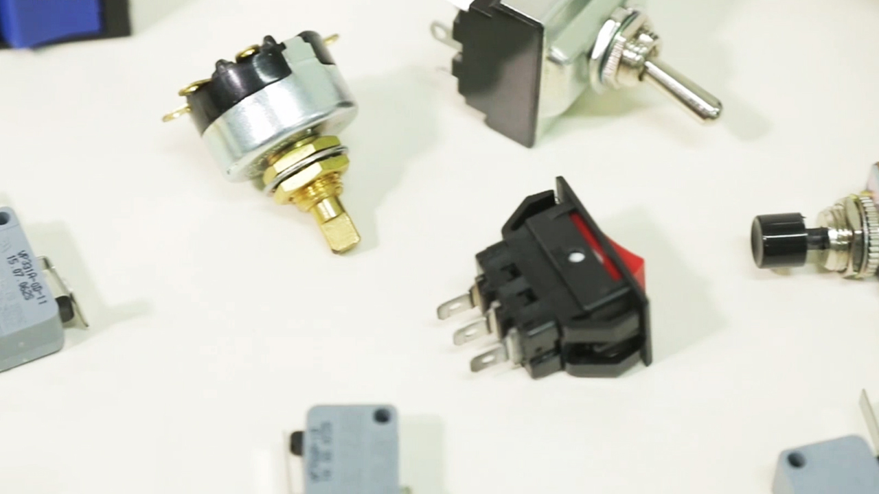 LIMSCOM, producing various types of switches used for home and industry
