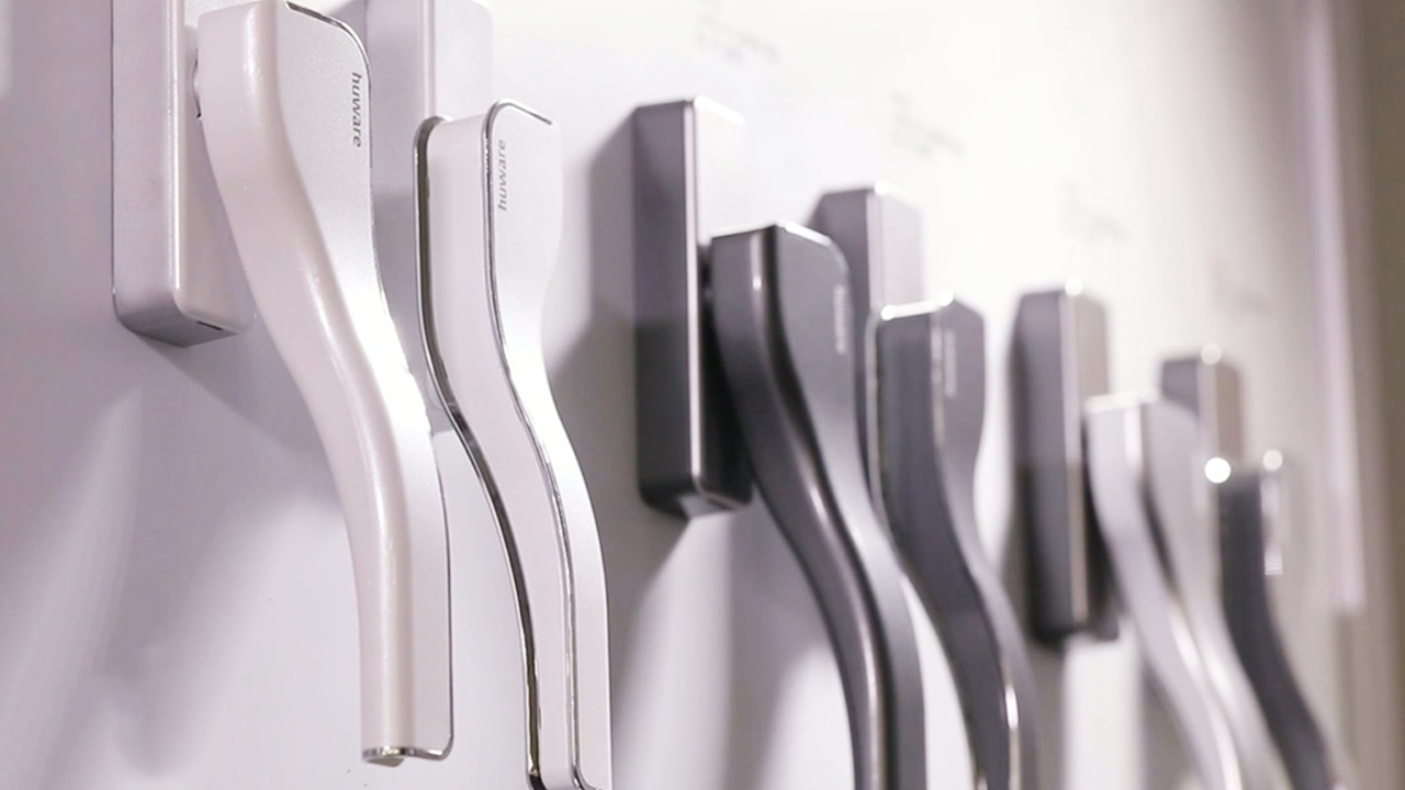 CS Tech, a maker of functional window hardware with sensuous designs