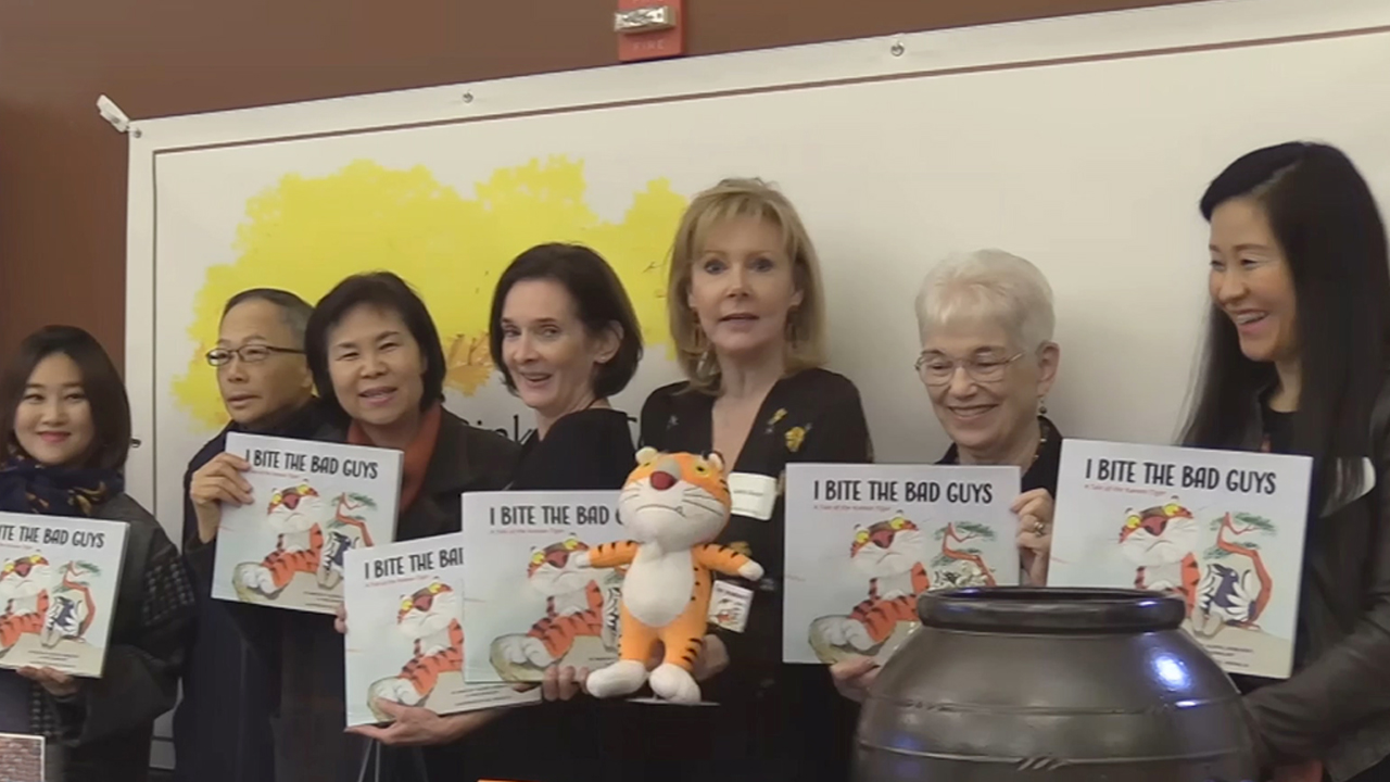Children's Book Inspired by Korean Folk Tales