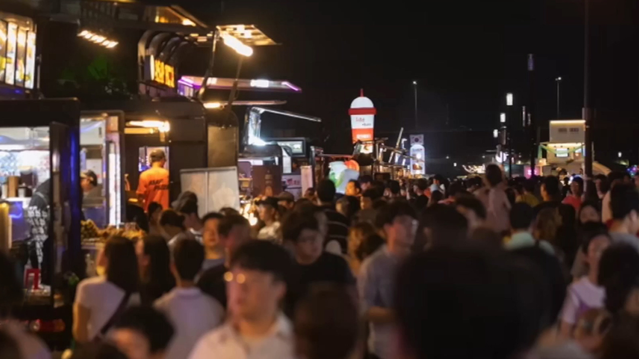The Fun and Lively Night Market