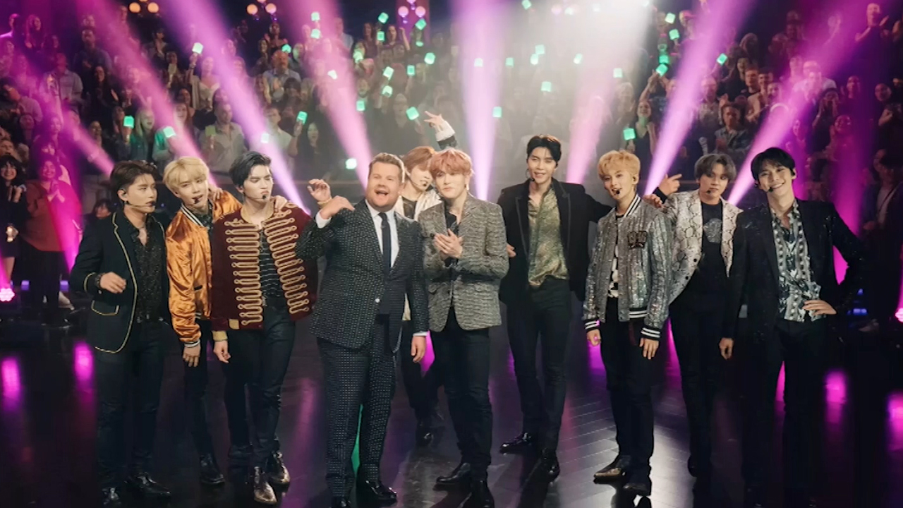 NCT 127 (엔시티 127)'S APPEARANCE ON A POPULAR AMERICAN TALK SHOW