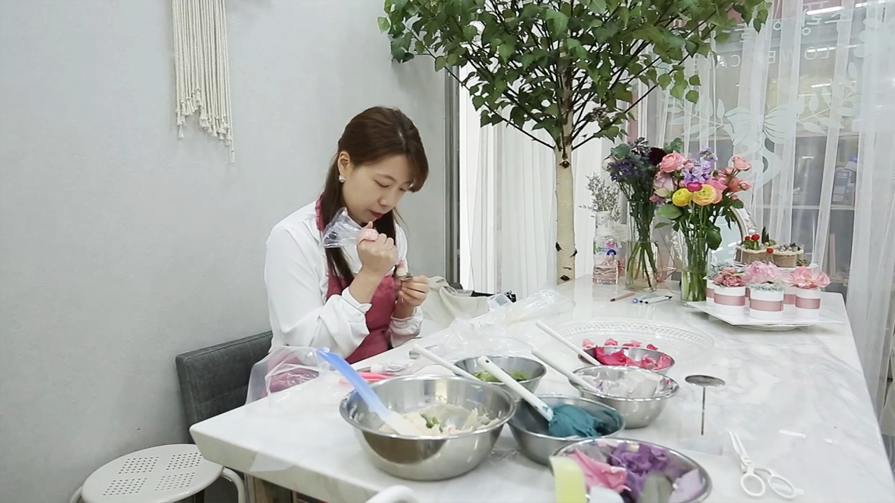 [ Artist ] Lee Hyo-ju, Flower Rice Cake Artist