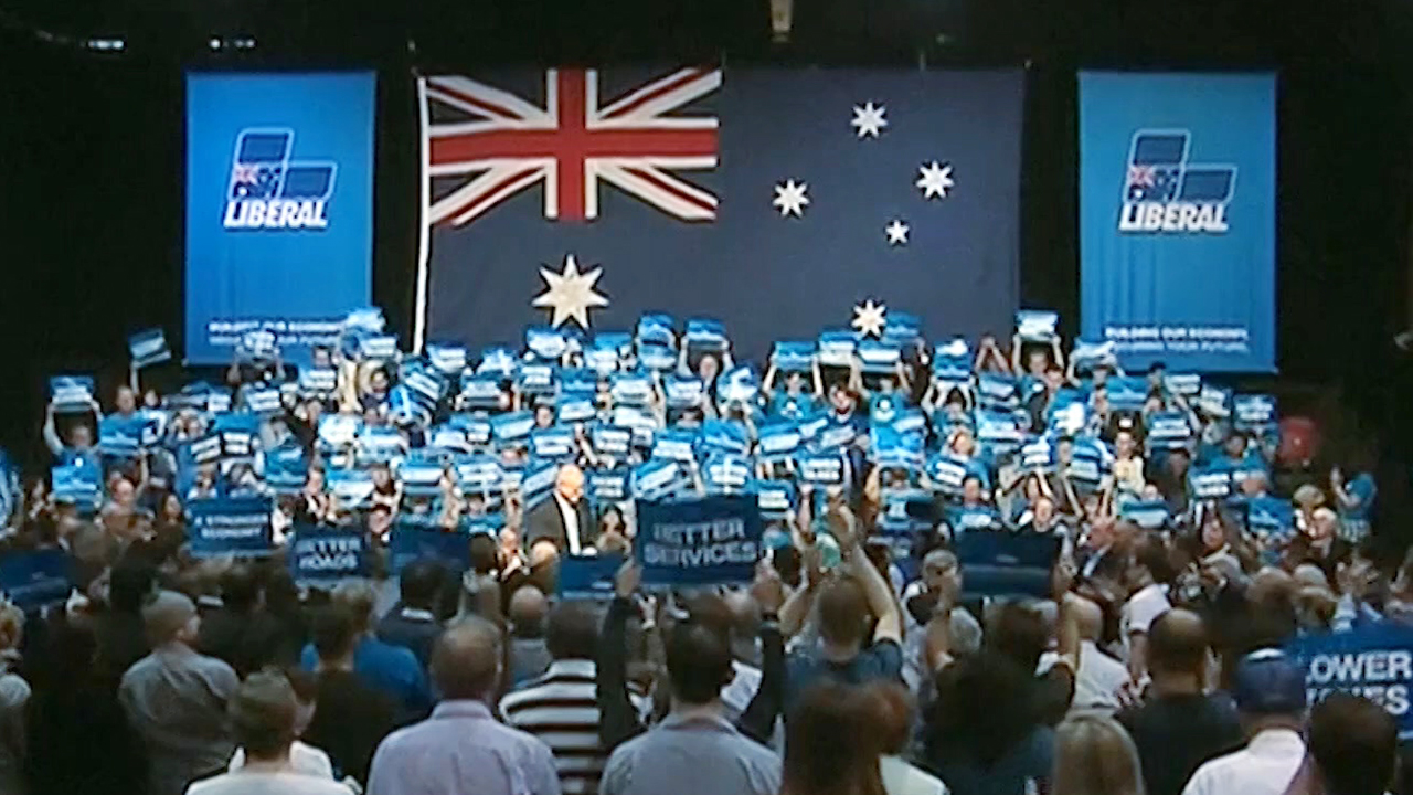 51-3 Ruling Party Upsets Australian Federal Election