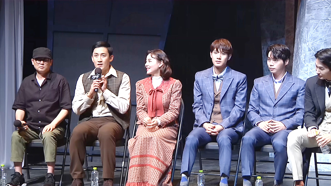 Press conference of the musical 'Nijinsky (니진스키)'