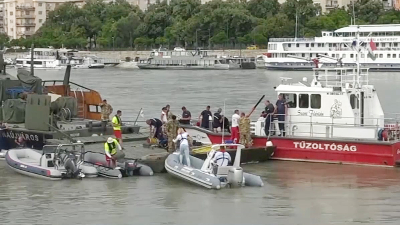 S. Korean Tourists Dead, Missing in Hungary Boat Sinking