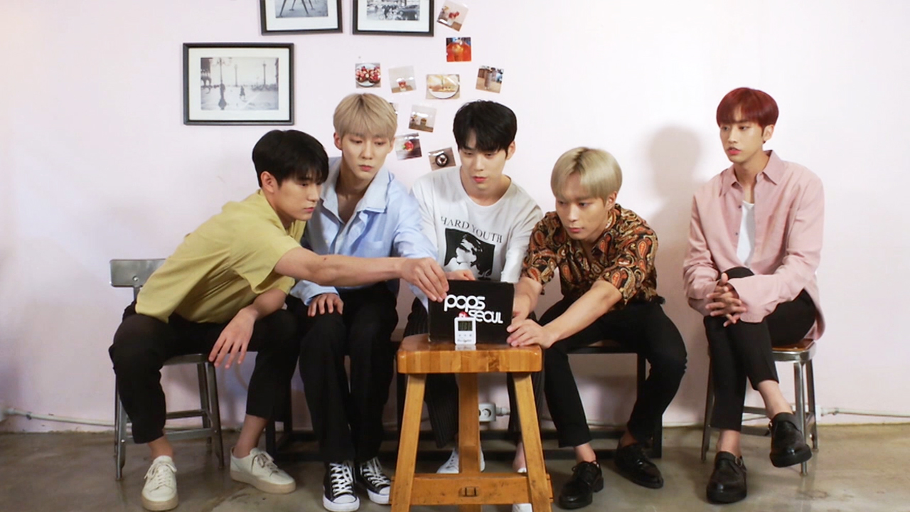 KNK (크나큰) Interview