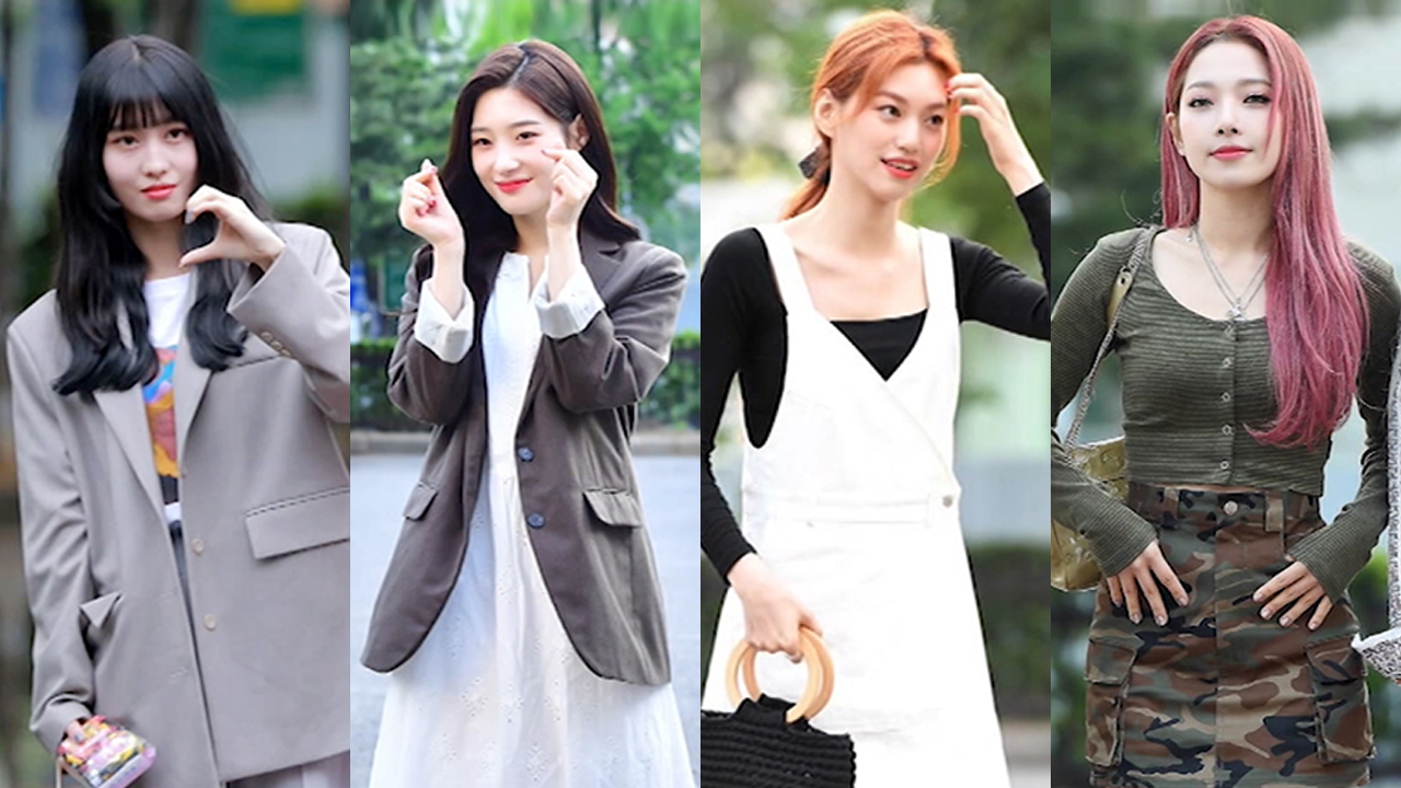 ★ FASHION WEEKLY ★ idol stars dress when they are on their way to work (여자 아이...