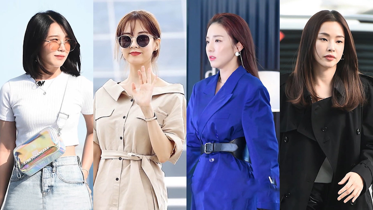 ★ FASHION WEEKLY ★ celebrities incorporating PVC into their wardrobe (PVC 핫 아이템)