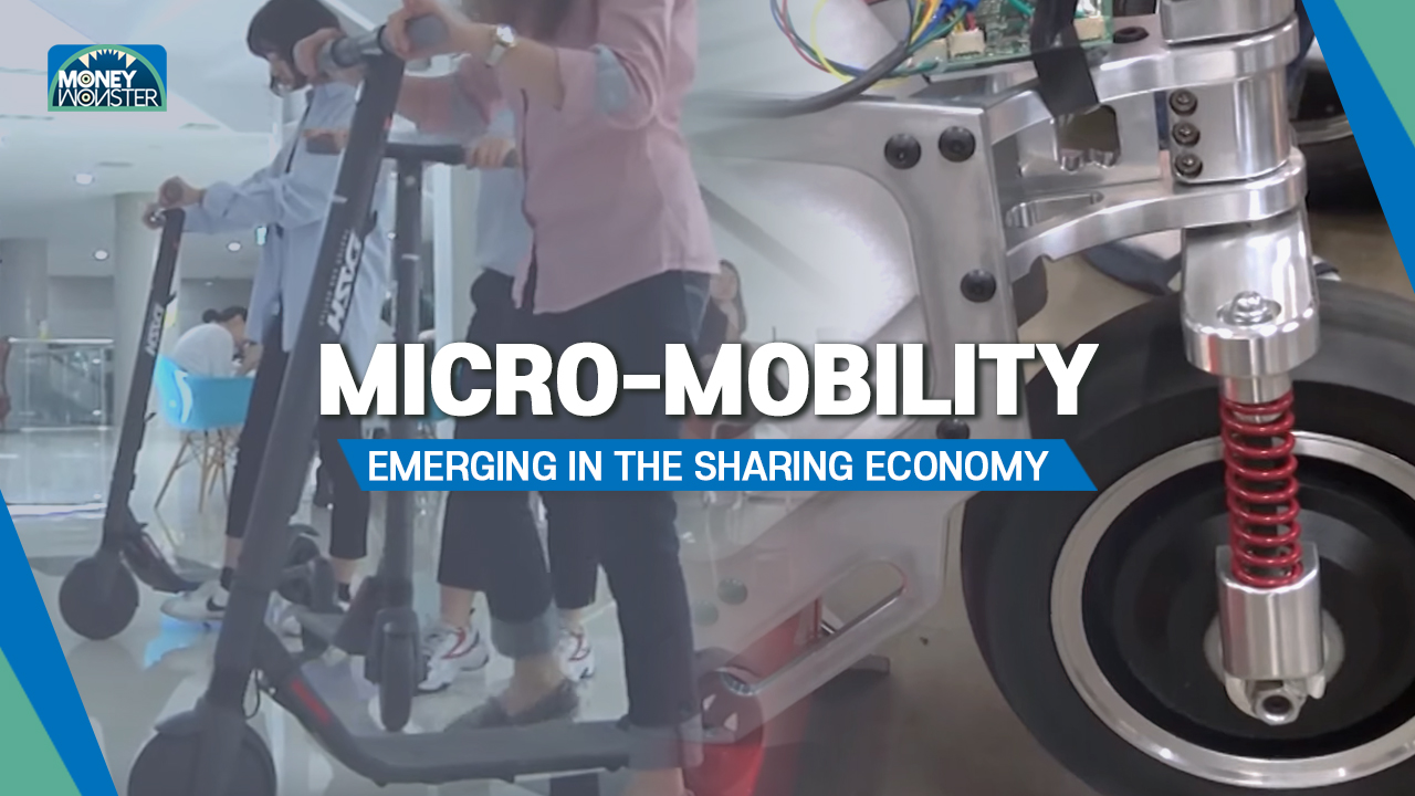 Micro-mobility, emerging in the sharing economy