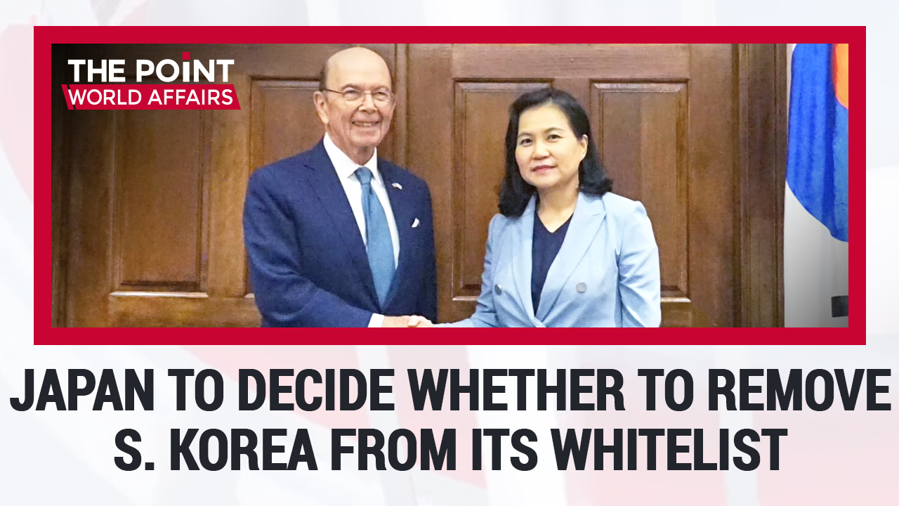 60-3 Japan To Decide Whether To Remove S. Korea From Its Whitelist