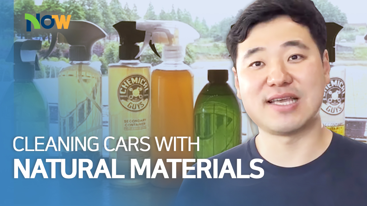 Cleaning Cars with Natural Materials