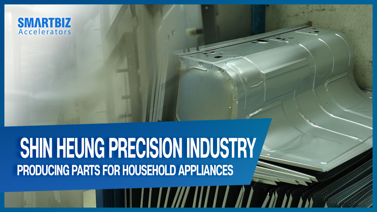 Shin Heung Precision Industry, producing parts for household appliances