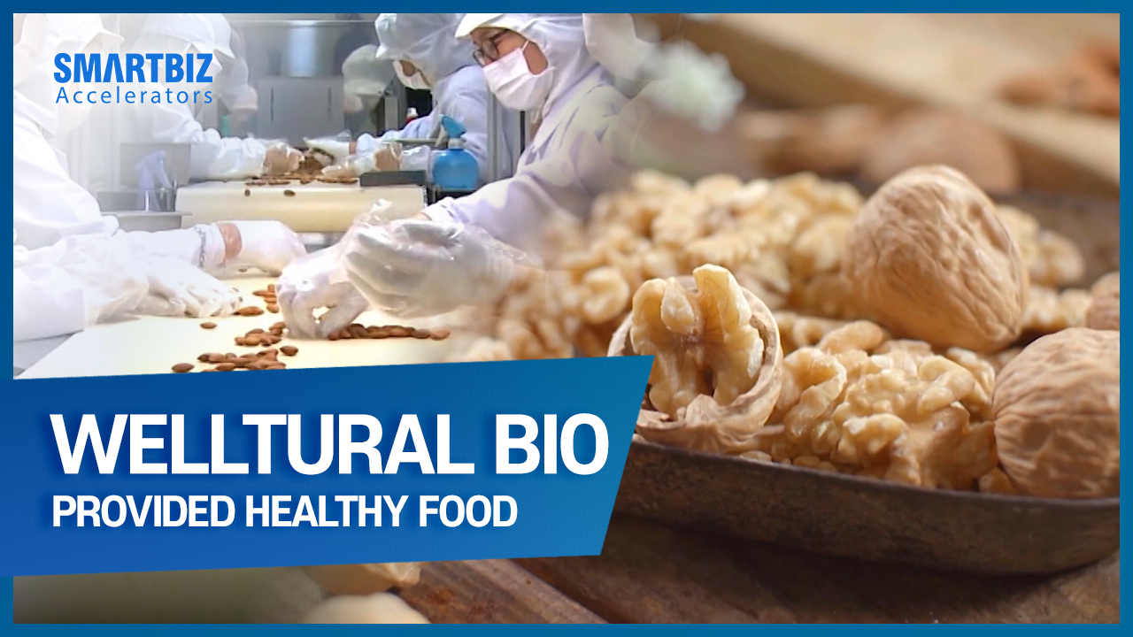 WELLTURAL BIO, providing healthy food by using domestically raised agricultural products