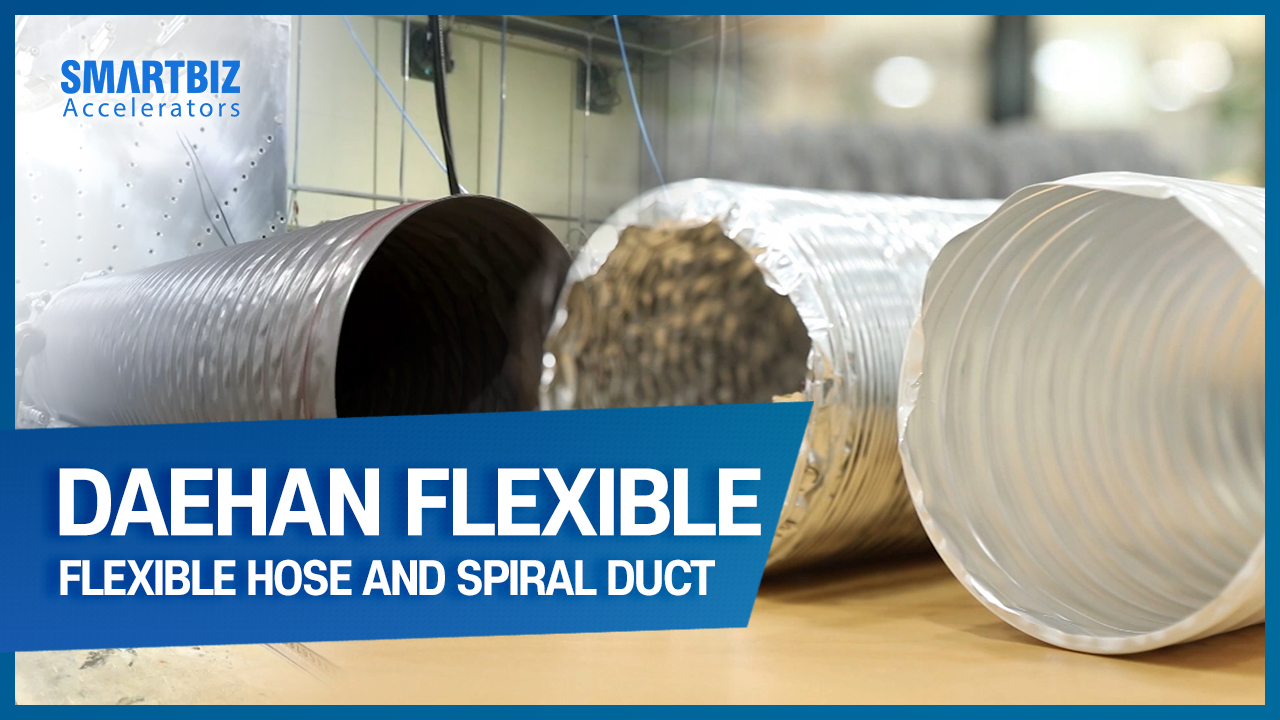DAEHAN FLEXIBLE DUCT HOSE, producing hoses for air conditioning and heating equipment
