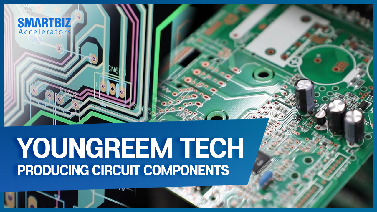 YOUNGREEM Tech, producing circuit components for refrigerator, washing machine and air conditioner