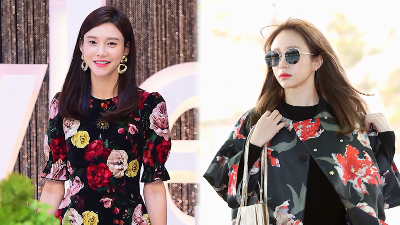 ★ FASHION WEEKLY ★ Celebrities with the floral looks (스타들의 플라워 패턴 패션)