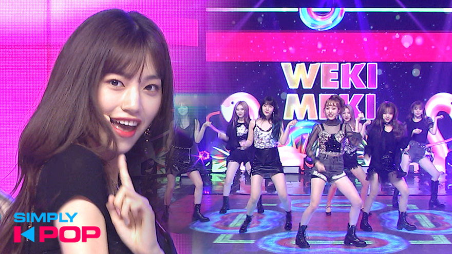 [Simply K-Pop] Weki Meki(위키미키) _ Tiki-Taka(99%)