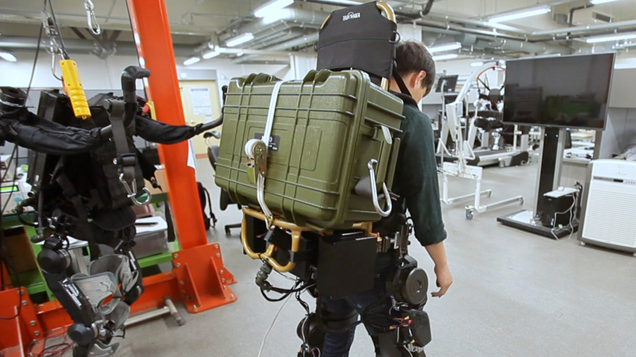 Overcoming Human Limitations, 'Wearable Robots'
