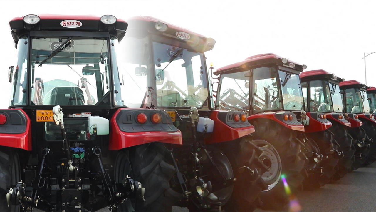 DONG SUNG, a smart factory system to the manufacturing facilities for tractor...