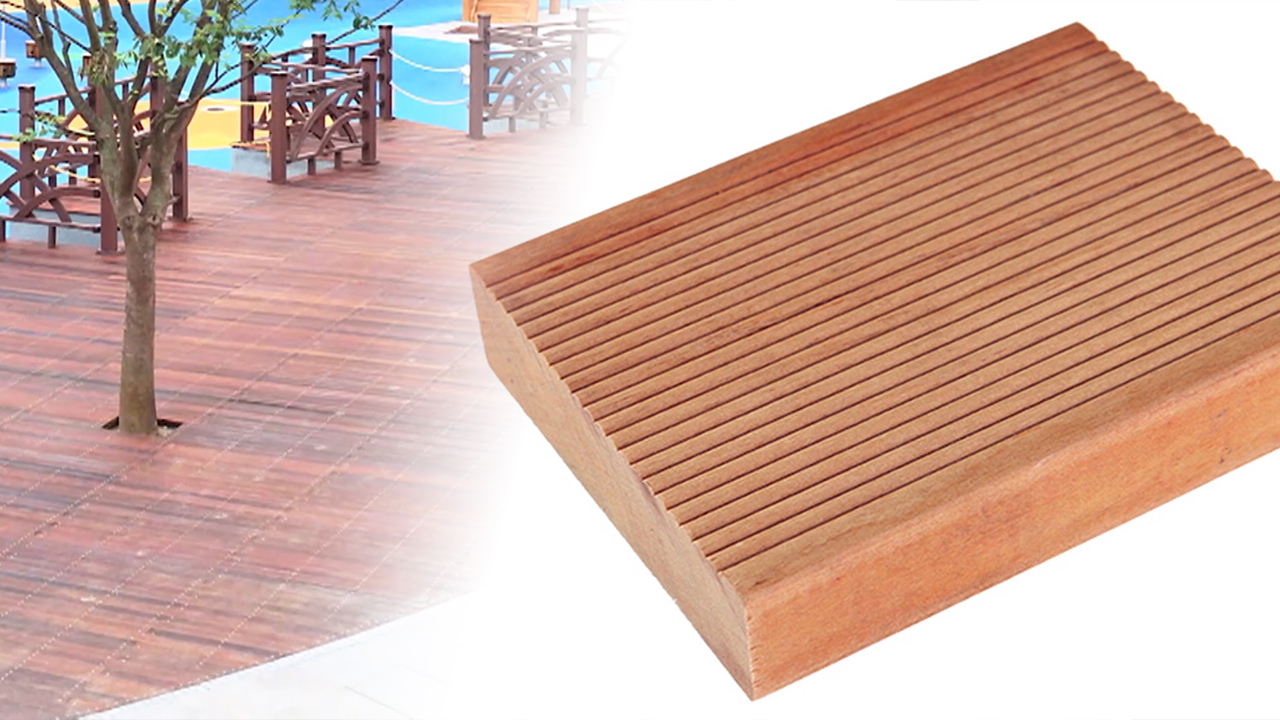 Anywood, producing eco-friendly synthetic wood for parks and terraces
