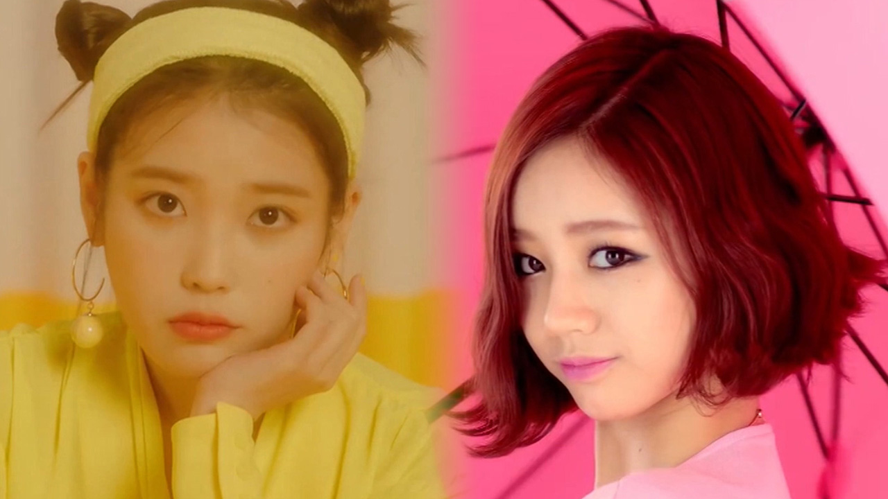 ★ Decalcomanie ★ IU (아이유) vs Hyeri (혜리)