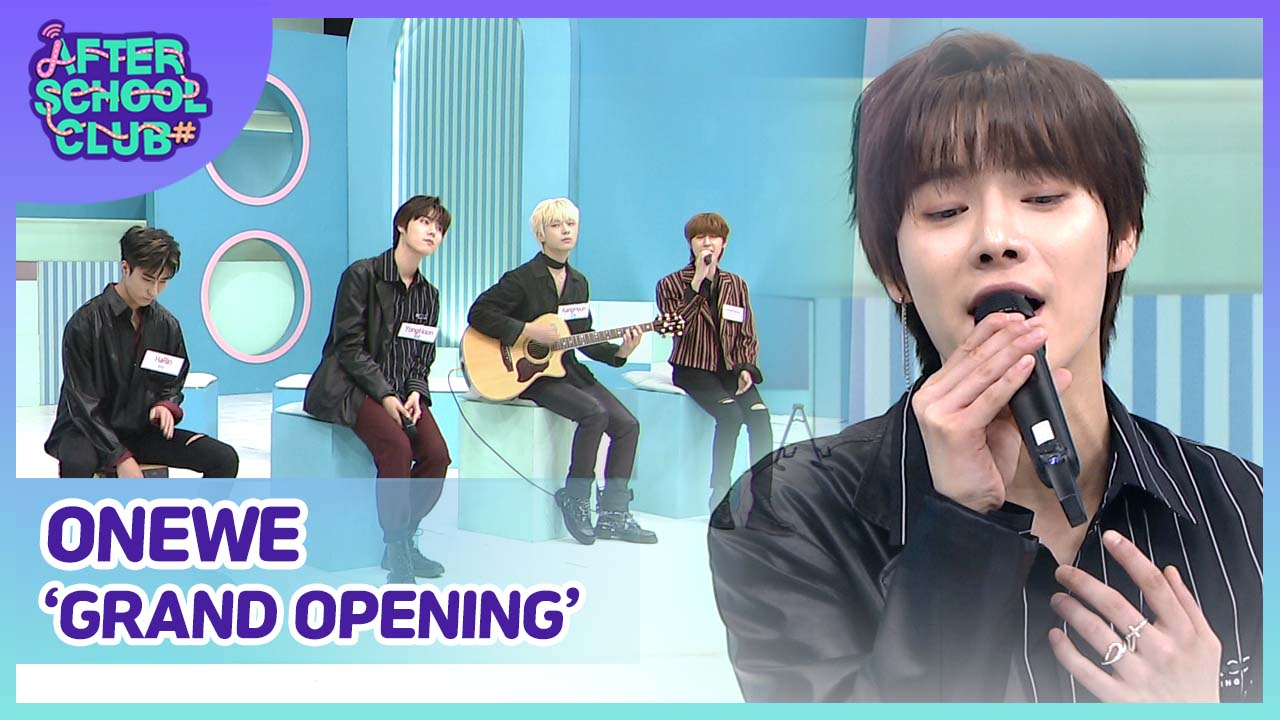[After School Club] ONEWE(원위)'s Grand Opening Ep.386