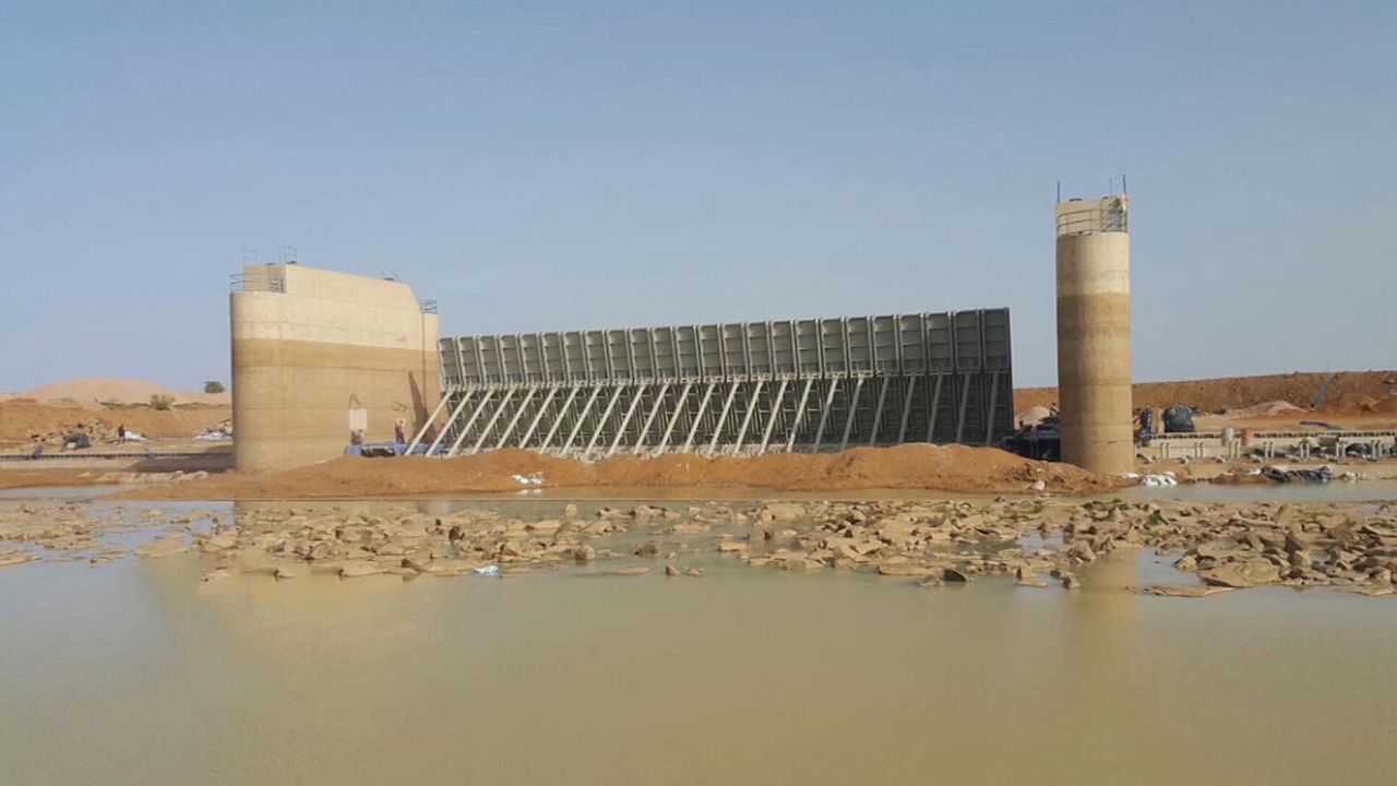HAEJEON INDUSTRIAL, the production of large-scale gates for dams