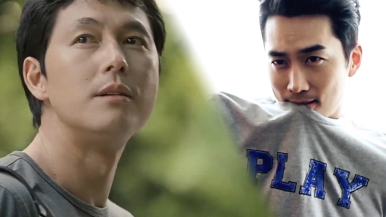 ★ Decalcomanie ★ Jung Woo-sung (정우성) vs Song Seung-heon (송승헌)