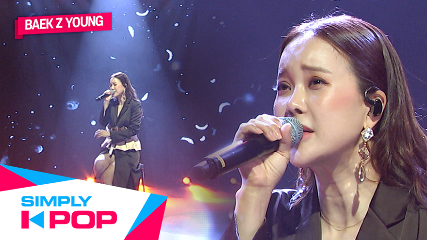 [Simply K-Pop] BAEK Z YOUNG(백지영) We(우리가)