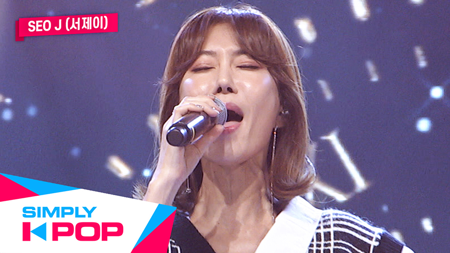 [Simply K-Pop] Seo J(서제이) _ Time Flows(시간은 흐른다)