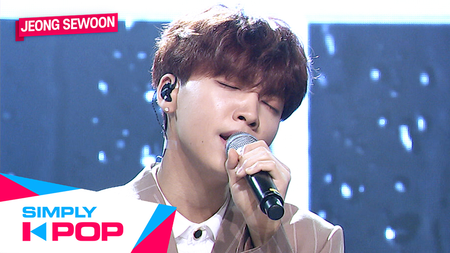 [Simply K-Pop] JEONG SEWOON(정세운) _ When it rains(비가 온대 그날처럼)