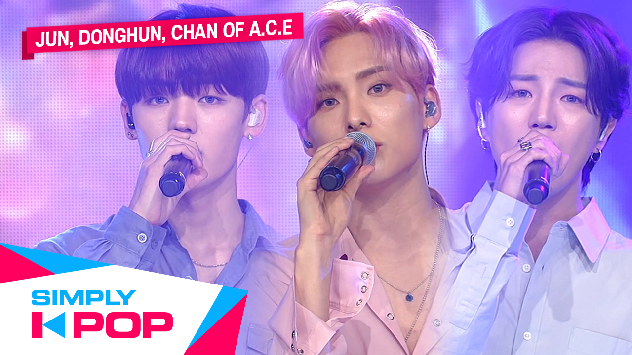 [Simply K-Pop] JUN, DONGHUN, CHAN of A.C.E(에이스) - 'First love (Prod.HongChang...