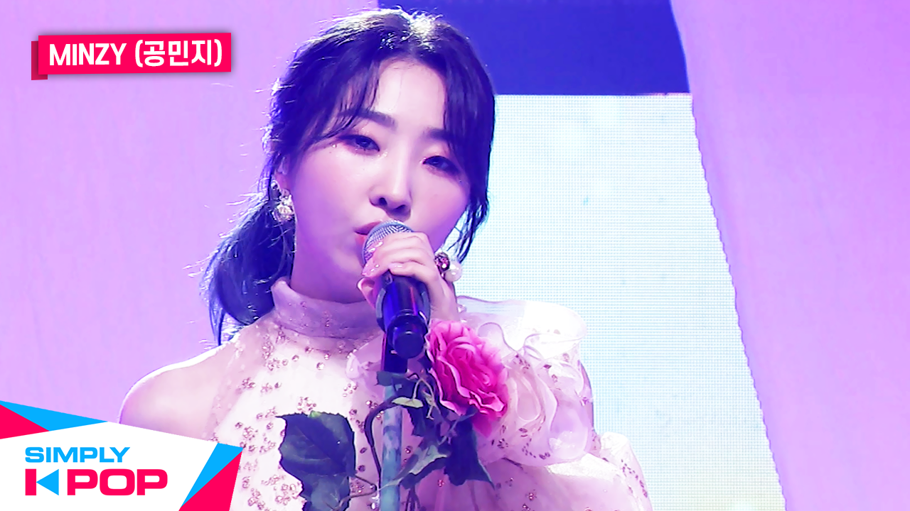 [Simply K-Pop] MINZY(공민지) - LOVELY _ Ep.416